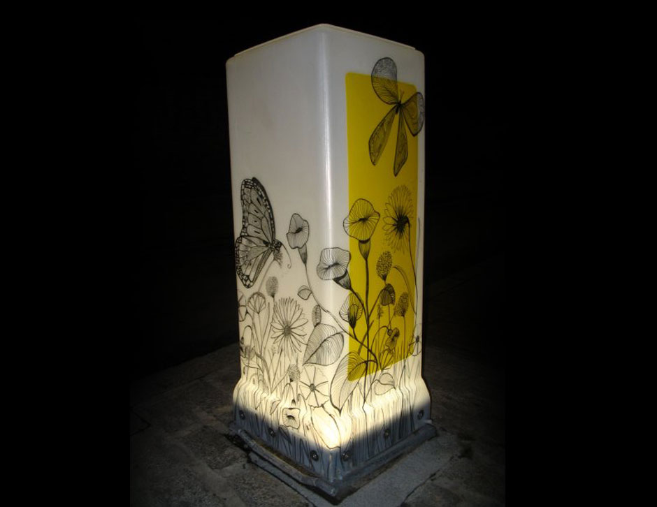 Bollard-light