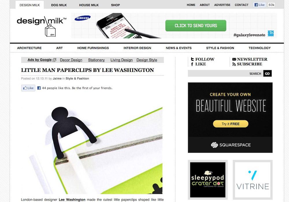 little man paperclips_design-milk